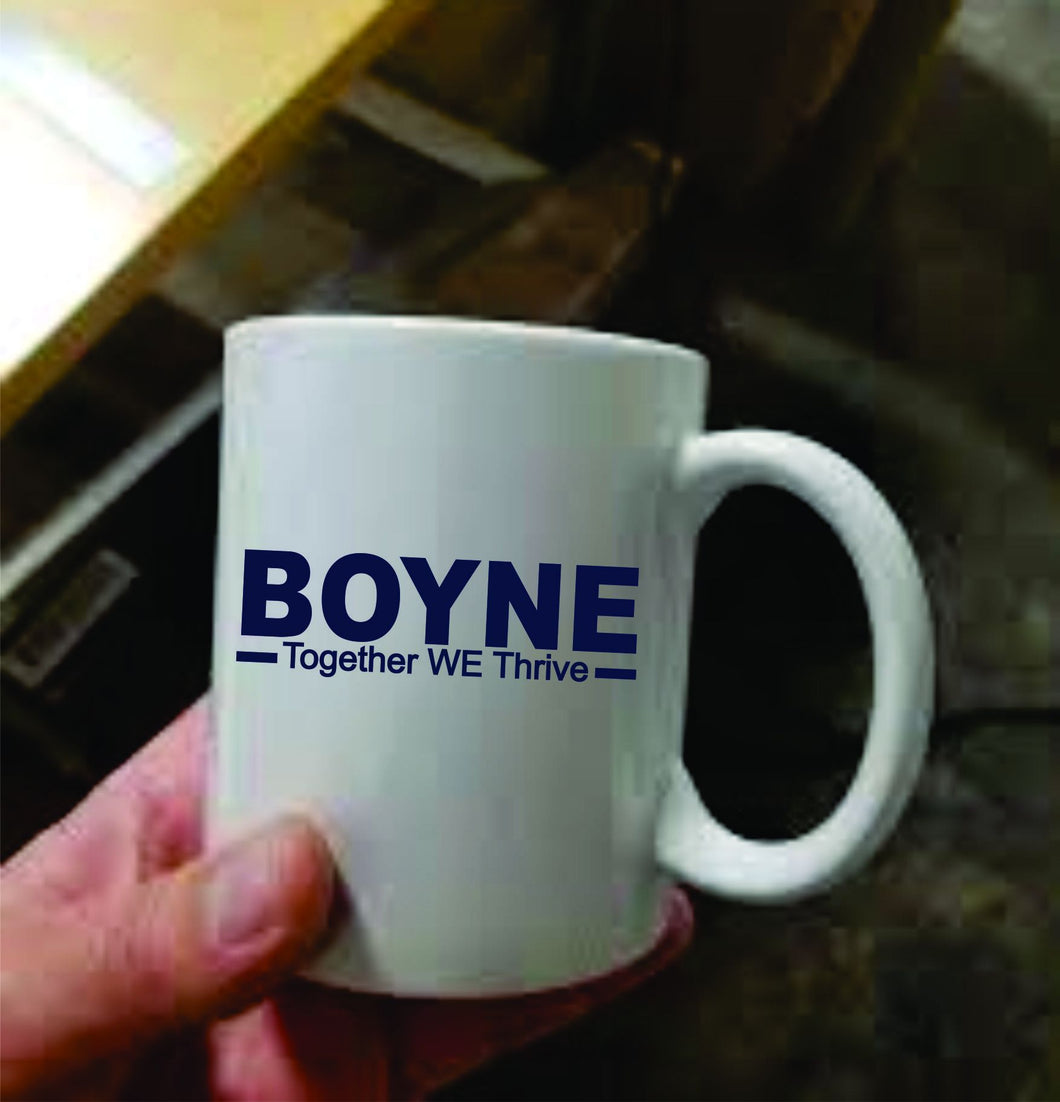 Boyne Together WE Thrive Mug