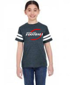 Youth Football Fine Jersey Tee / LA246