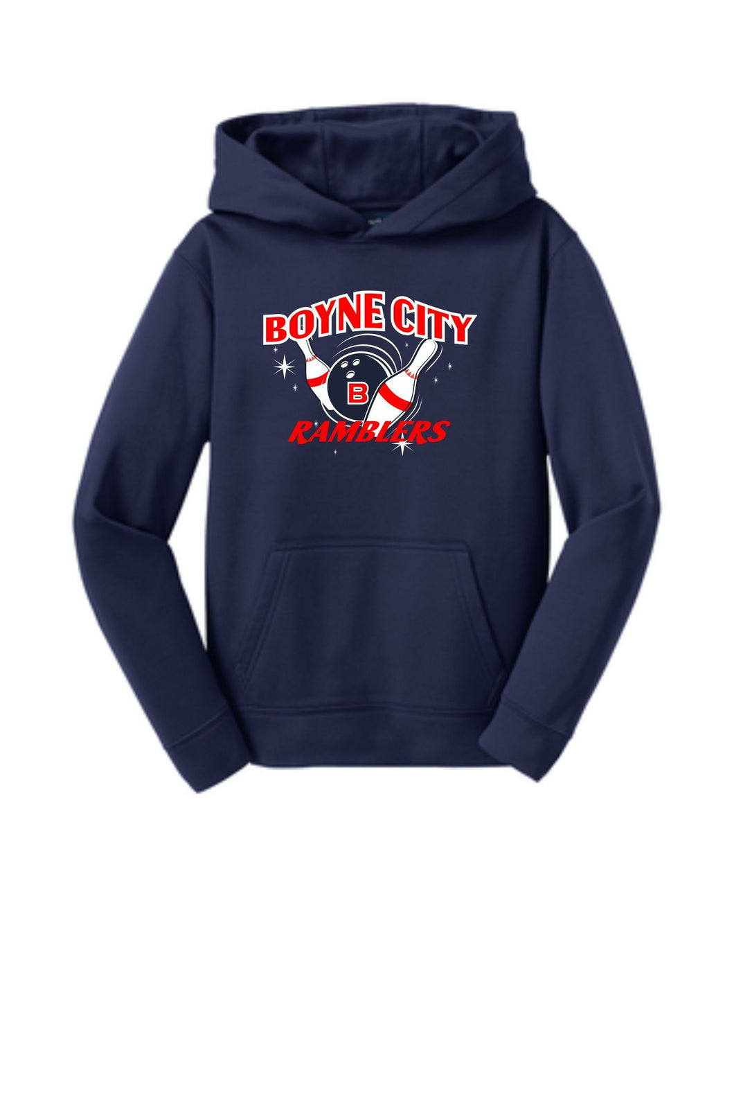 Youth & Adult Performance Hooded Sweatshirt