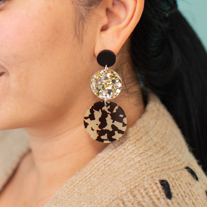 Fall Nights Triple Drop Earrings <br> Each To Own