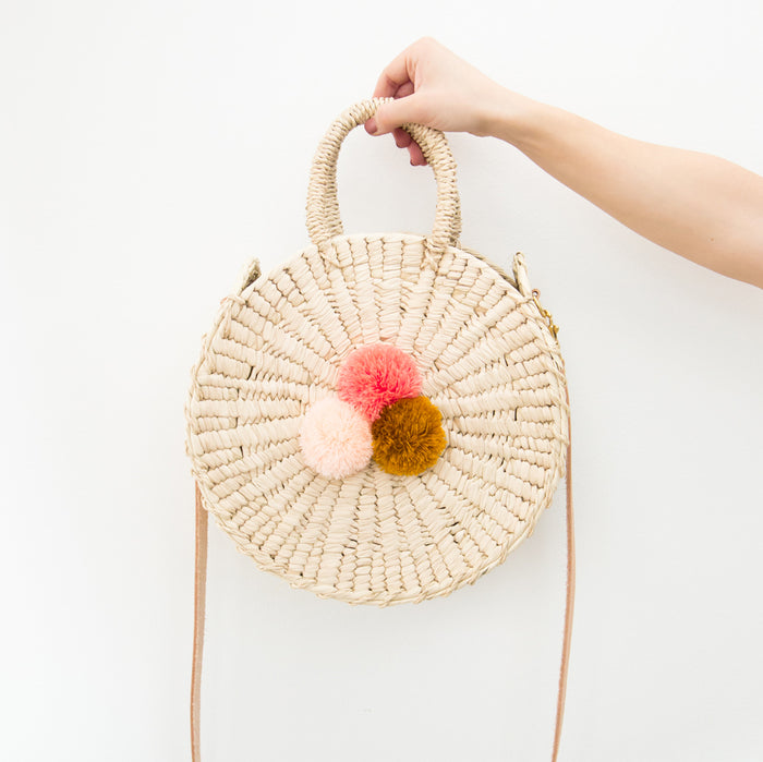 Sol Crossbody Circle Bag <br> by Nomah Project