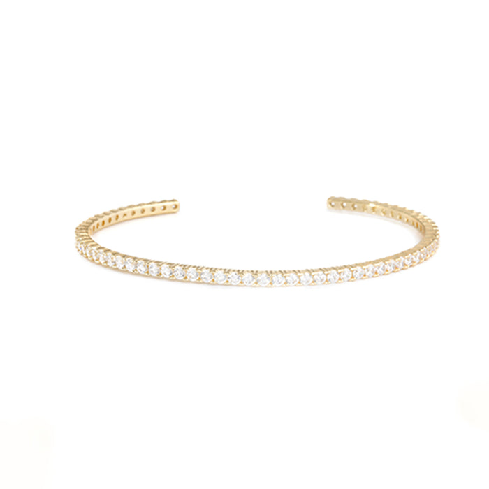 Shimmer Thin Cuff by Shashi