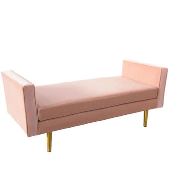 Oh Joy! Daybed <br> Blush Velvet