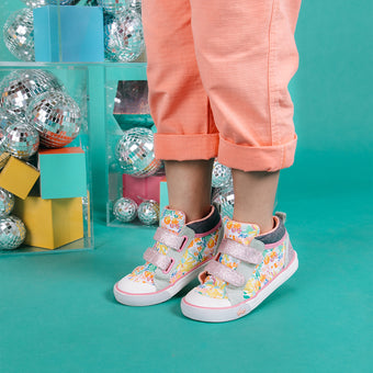 Oh Joy! for See Kai Run Kya High Top Sneaker Bouncing Blooms