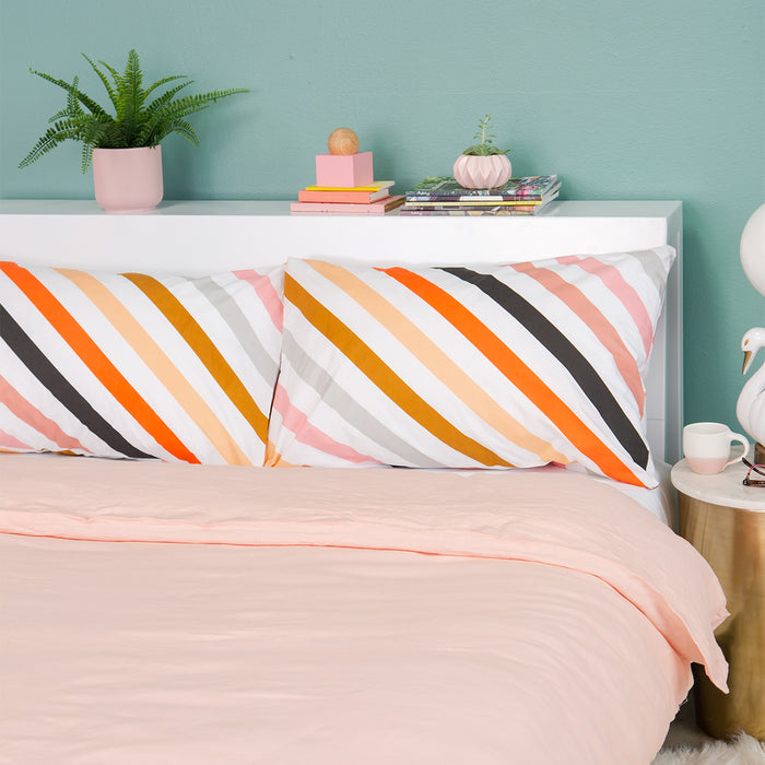 Candy Stripe Pillowcase<br>by Castle