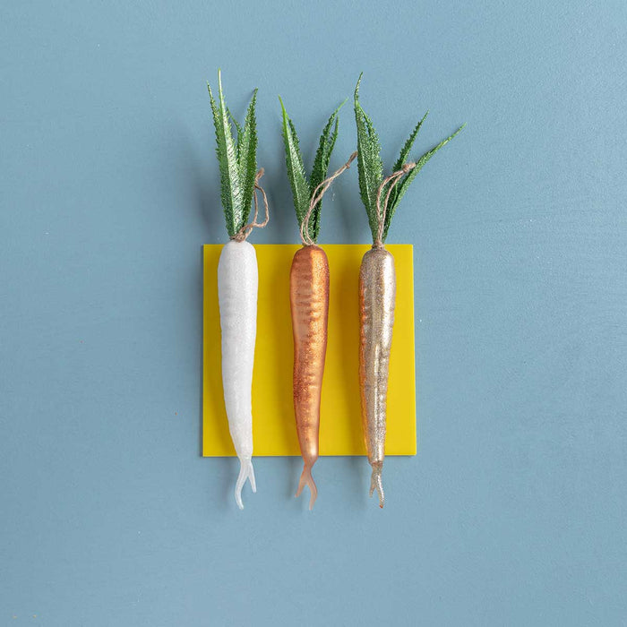 Carrot Ornaments<br>Set of 3