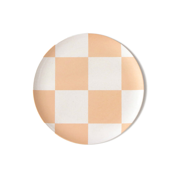 Checker Side Plate in Set of 4 <br> by Xenia Taler