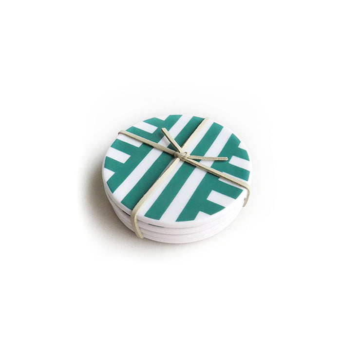 Parker Ceramic Coasters Set of 4 <br> by Xenia Taler