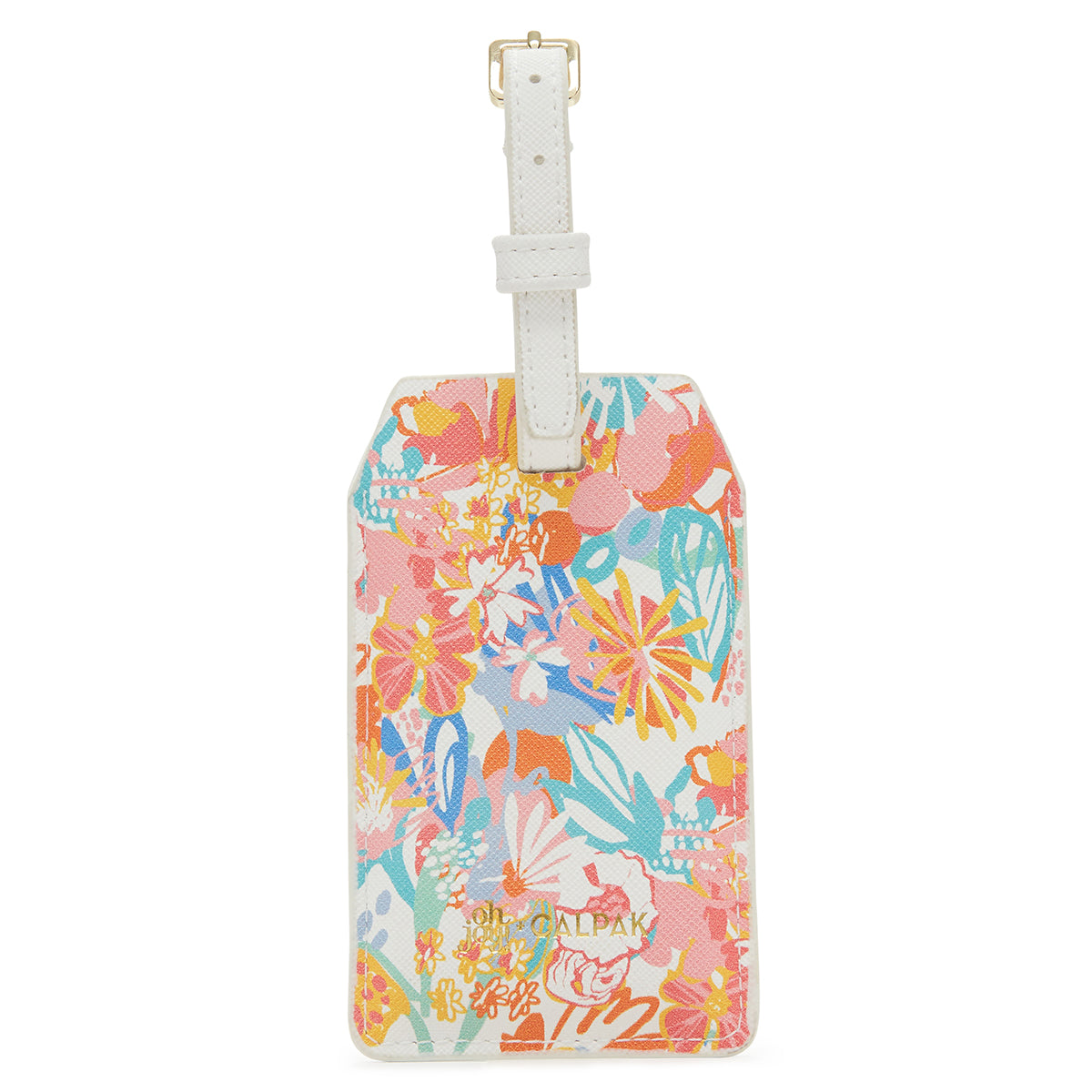 Oh Joy! For CALPAK Power Luggage Tag in Floral