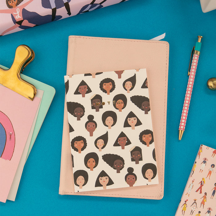Geo Girls Notebook by Carolyn Suzuki