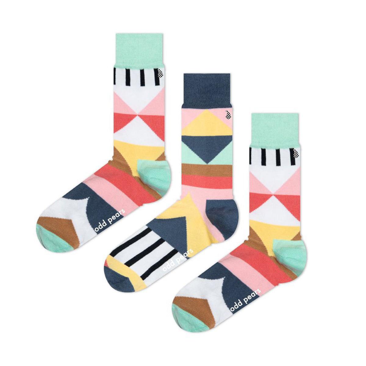 Geo Socks by Odd Pear
