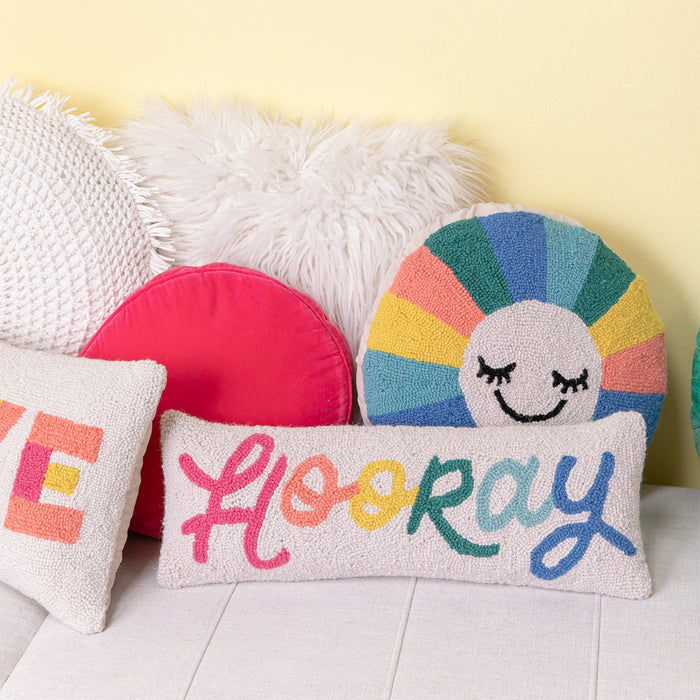 Hooray Hook Pillow <br> by Oh Joy!