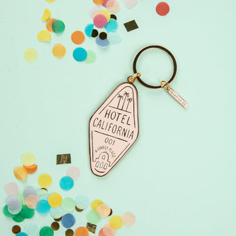 Hotel California Keychain by Idlewild Co.