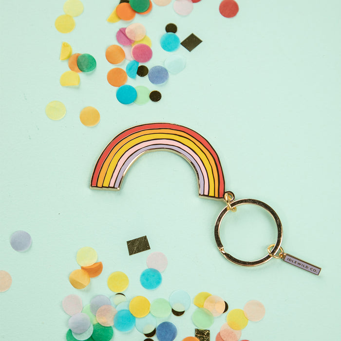 Rainbow Keychain by Idlewild Co.