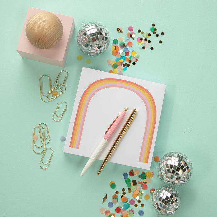 Rainbow Notepad by Idlewild Co.
