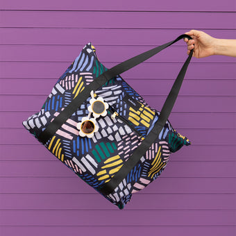 Midnight Muse Tote Bag by Kaleido Concepts