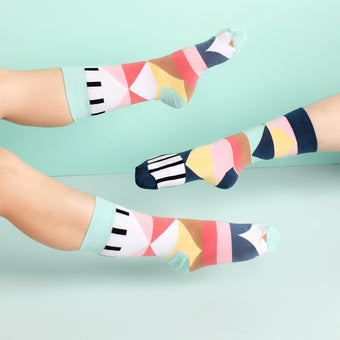 Geo Socks <br> by Odd Pear