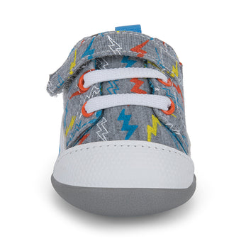 Oh Joy! for See Kai Run Stevie II Infant Shoe Leaping Lightning