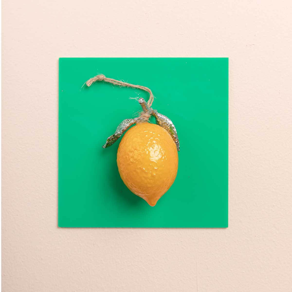 Lemon Ornament<br>