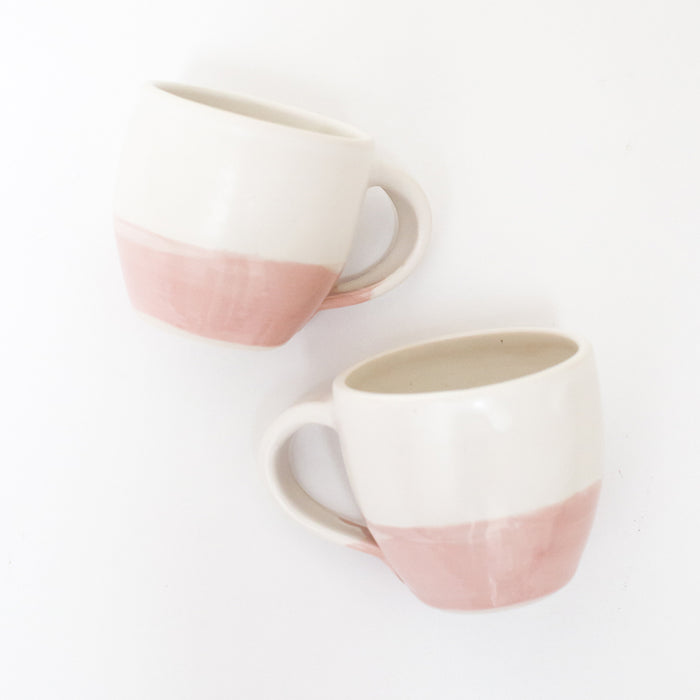 Mini Mugs Set of 2 <br> by Lily Glass