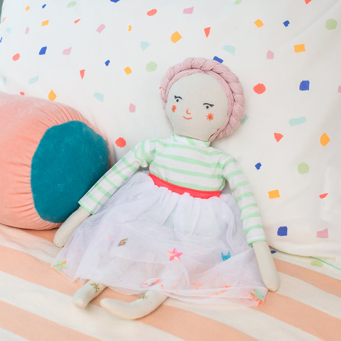 Matilda Fabric Doll<br>by Meri Meri