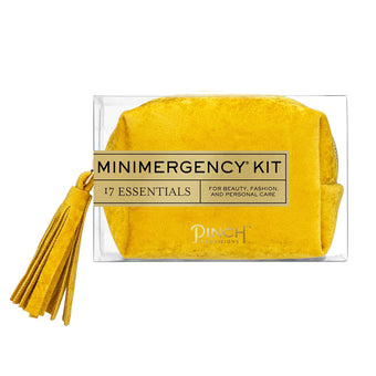 Yellow Velvet Miniemergency Kit<br>by Pinch Provisions