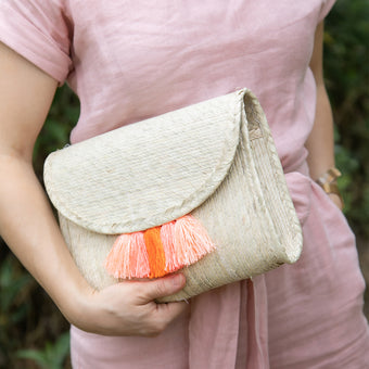Lara Clutch with Strap<br> by Nomah Project