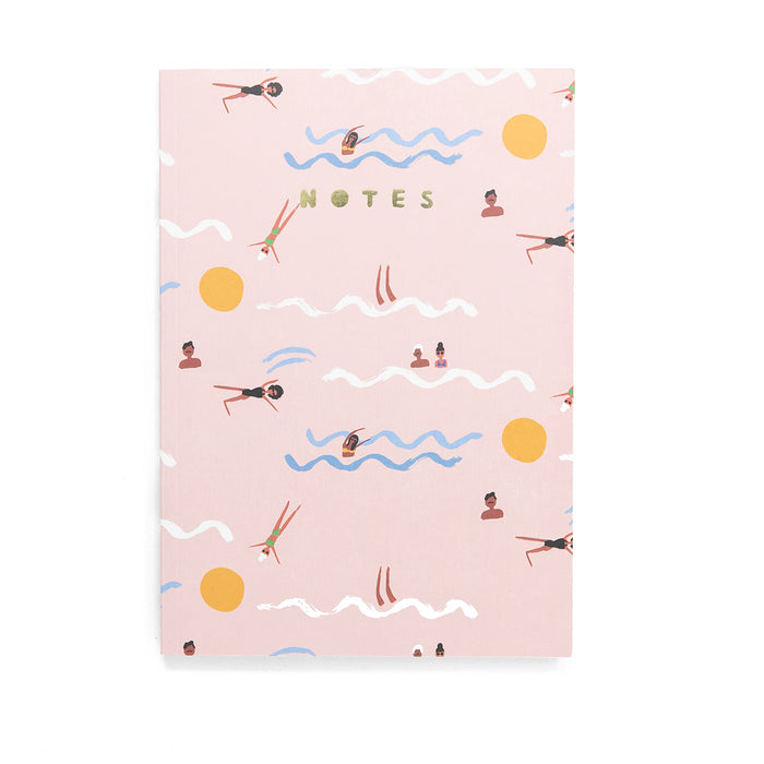 Summer Swimmers Notebook <br> by Carolyn Suzuki