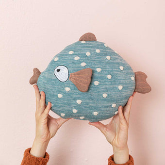 Little Finn Fish Cushion<br>by OYOY
