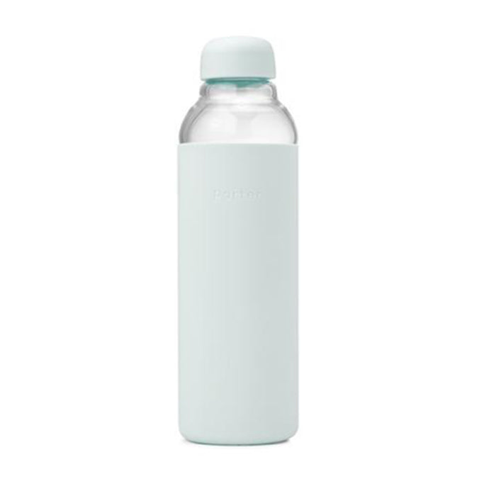 Glass Water Bottle in Mint<br>by Porter