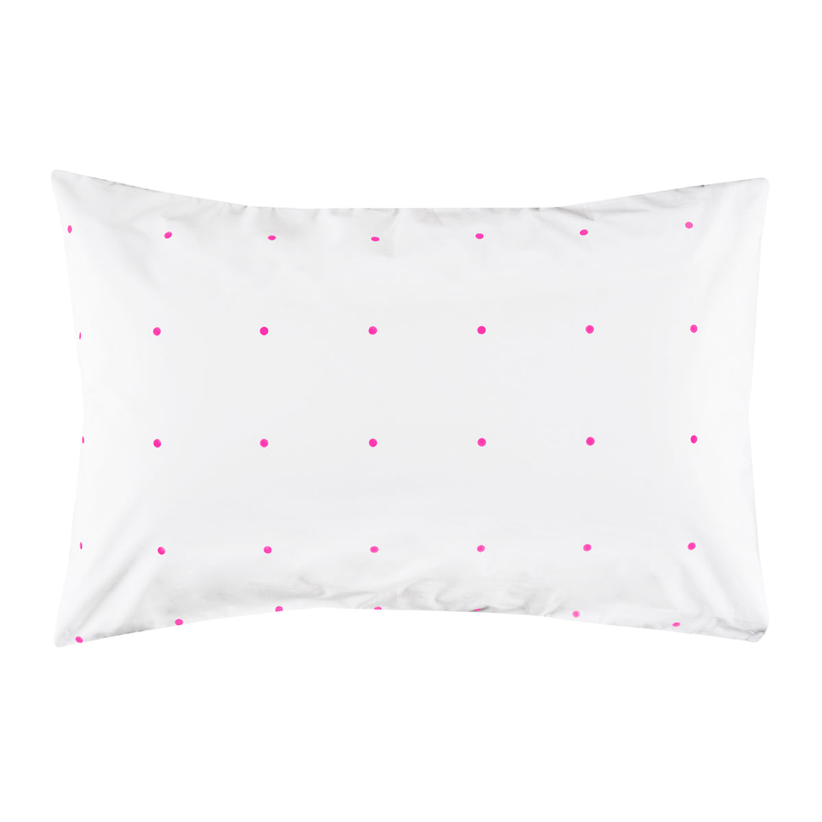 Pegboard Hot Pink Pillowcase<br>by Castle