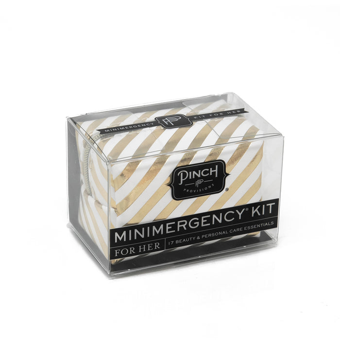 Golden Stripes Minimergency Kit by Pinch Provisions