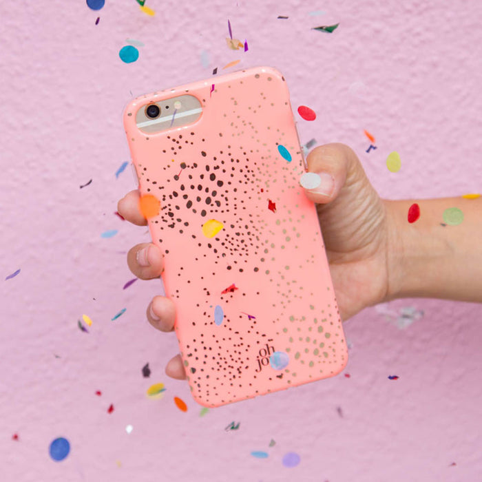 Oh Joy!  Phone Case <br> Pink Lace
