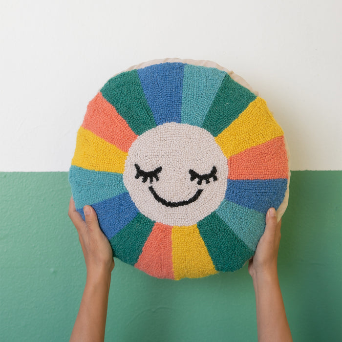 Radiant Sunshine Hook Pillow <br> by Oh Joy!