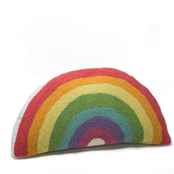 Rainbow Hook Pillow <br> by Peking Handicraft