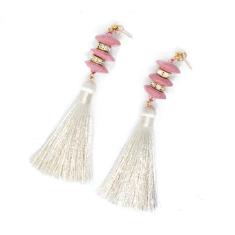 Love Pagoda Tassel Earrings by SJO Jewelry