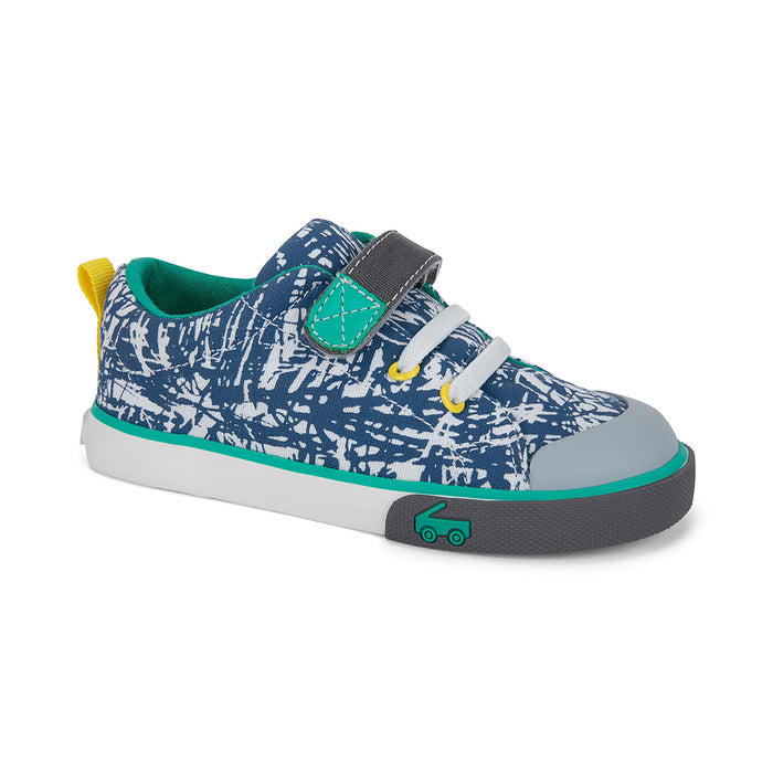 Oh Joy! for See Kai Run Stevie II Sneaker Skipping Sketch-Blue