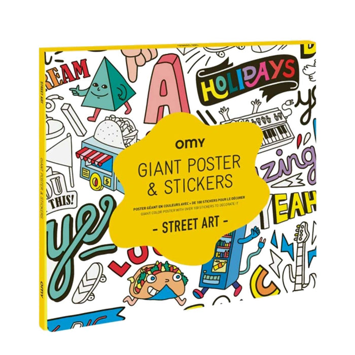 Giant Sticker Poster: Street Art <br> by Omy