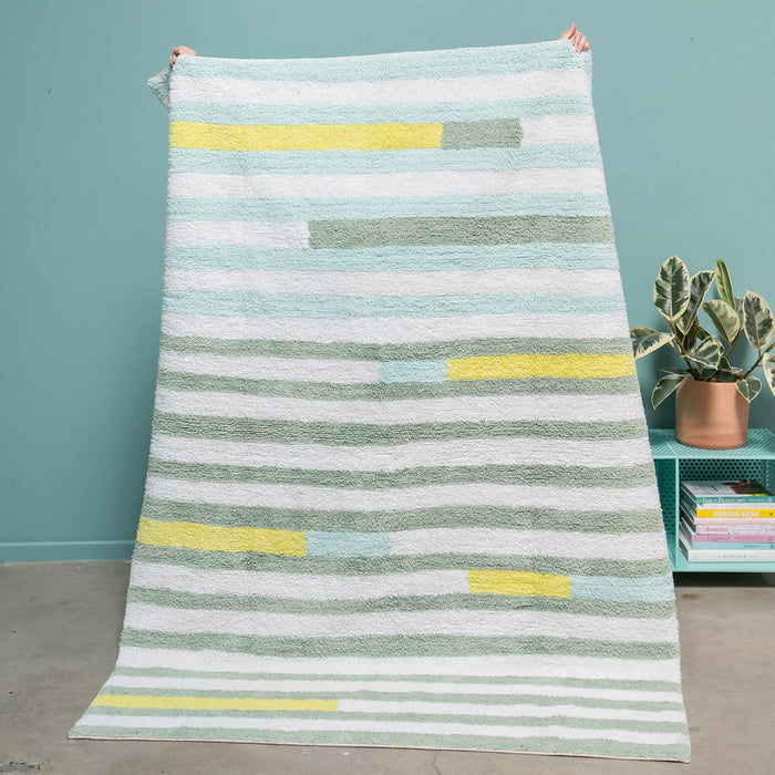 Oh Joy! for Lorena Canals<br>Happy Lanes Rug