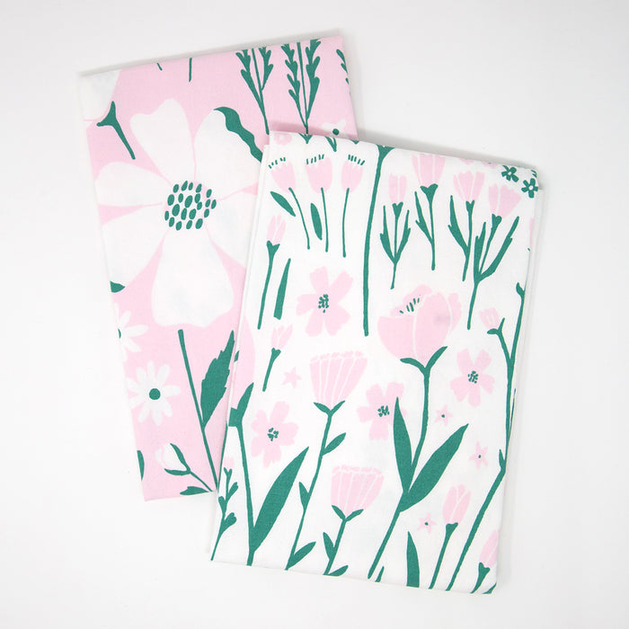 Floral Tea Towels Set of 2 by Lisa Rupp