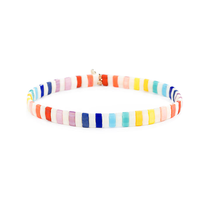 Candy Land Beaded Bracelet by Shashi
