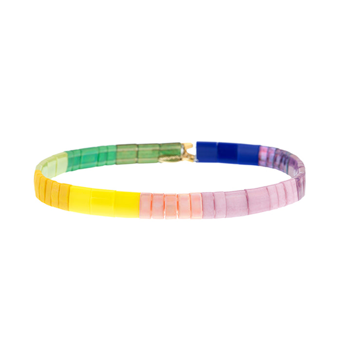 Color Lovers Beaded Bracelet<br>by Shashi