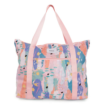 Pink Breeze Tote Bag  by Kaleido Concepts