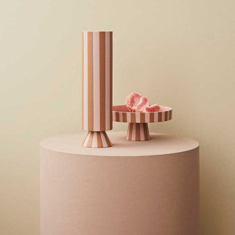 Toppu High Vase in Rose and Caramel<br>by OYOY