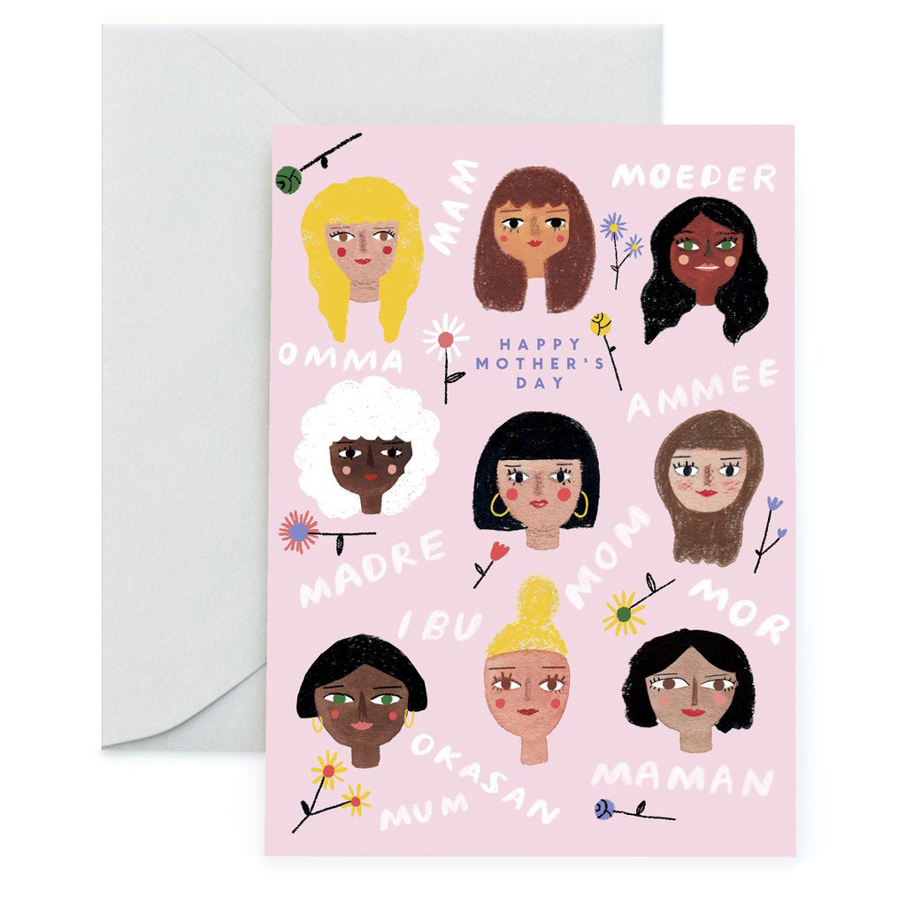 All the Moms Greeting Card by Idlewild Co.