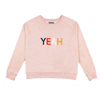 Yeah Sweatshirt <br> By Castle