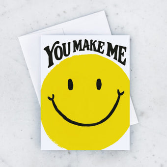You Make Me Smile Card by Idlewild Co.