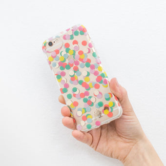 Oh Joy! Phone Case Scattered Confetti
