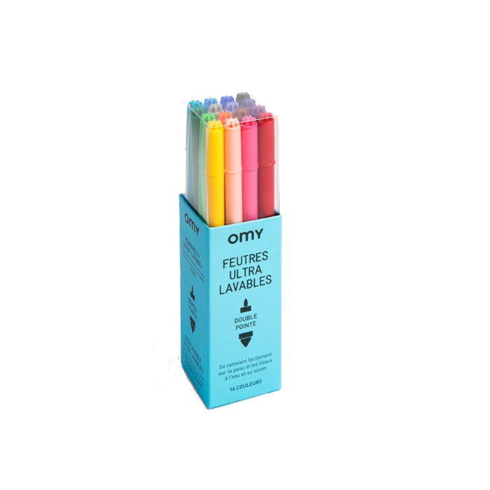 Ultra-washable Felt Pens <br> by Omy