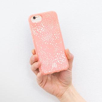 Oh Joy!  Phone Case Pink Lace